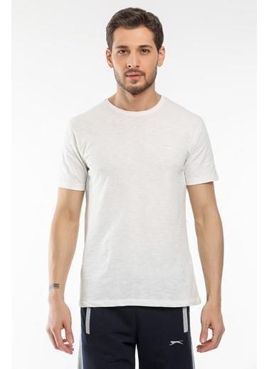 Slazenger Slazenger SAND Erkek T-Shirt  Bej